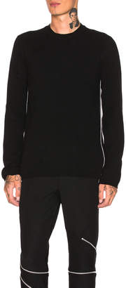 Comme des Garcons Woolen Yarn Lamb Jersey in Black | FWRD