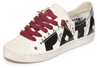 Dolce Vita Z-Pata Special Collection Low Sneakers $130 thestylecure.com