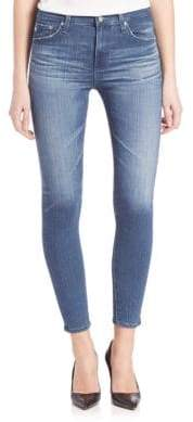 AG Adriano Goldschmied AGed Denim Farrah High Rise Skinny Crop Jeans