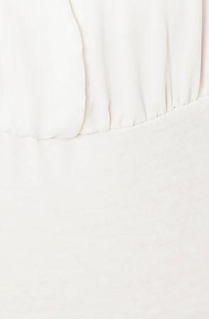 Love Cat The Marilyn Bodysuit in White