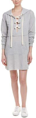 Fate By Lfd Lace-Up Sweatshirt Dress