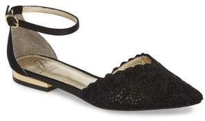 Adrianna Papell Trala Ankle Strap Flat