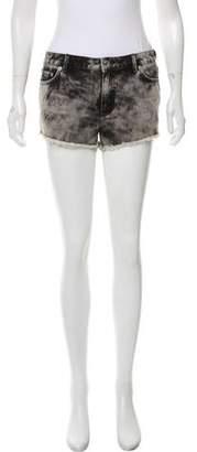 BLK DNM Denim Mini Shorts