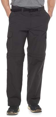 Croft & Barrow Men's Classic-Fit Performance Stretch Belted Convertible Cargo Pants