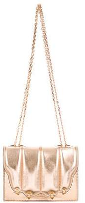 Marco De Vincenzo Metallic Crossbody Clutch