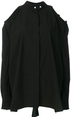 Damir Doma cold shoulder shirt