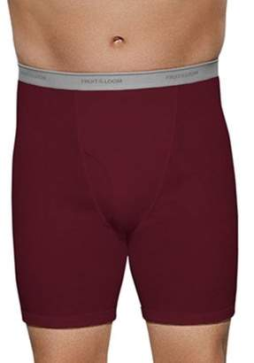 Fruit of the Loom Big Men's Collection Assorted Color Boxer Briefs, 2-Pack