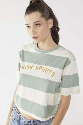 Urban Outfitters High Spirits Striped Tee