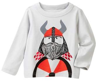 Tea Collection Little Viking Graphic Tee (Baby Boys)