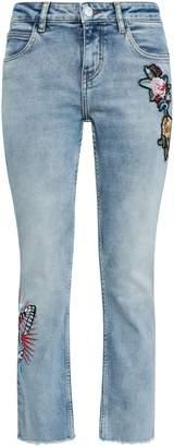 Maje Mid-rise Straight-leg Jeans