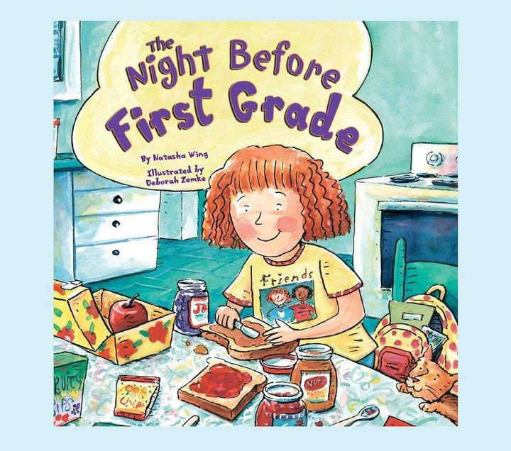 Pottery Barn Kids The Night Before First Grade by Natasha Wing