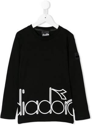 Diadora Junior logo printed T-shirt