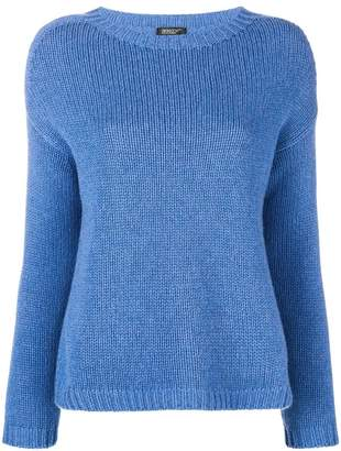 Aragona long-sleeve fitted sweater