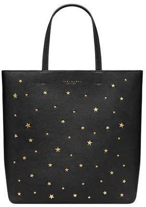 Tory Burch Small Star Stud Leather Tote Bag