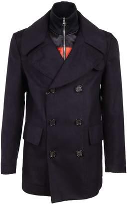 Alexander McQueen Classic Pea Coat