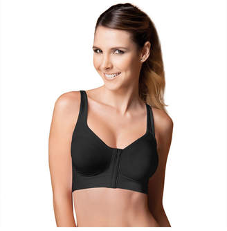 Annette Women Wireless Front Close Recovery and Sleep Racerback Bra
