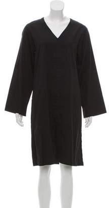 Saint Laurent V-Neck Knee-Length Dress