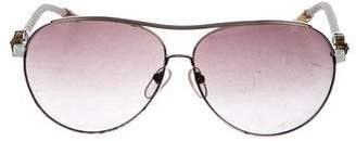 Chrome Hearts Jism Aviator Sunglasses