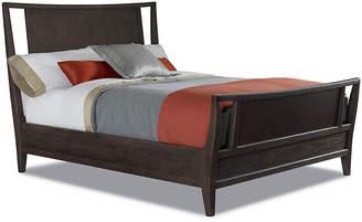 Hudson Oak Bed - Tobacco - Brownstone Furniture