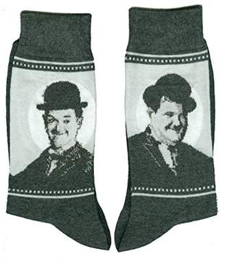 Laurèl and Hardy Comedy Vintage Unisex Novelty Ankle Socks Adult Size 6-11