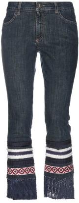 Alysi Denim pants - Item 42711646LV