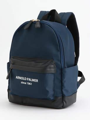 Arnold Palmer (アーノルド パーマー) - アーノルドパーマータイムレス 合皮×ナイロン異素材コンビミニリュック