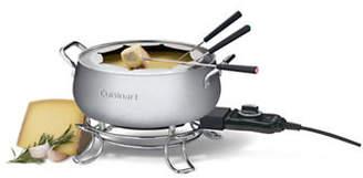 Cuisinart 1000 Watt Brushed Stainless Steel Electric Fondue Set