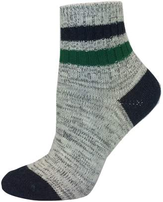 Point Zero Striped Ankle Socks