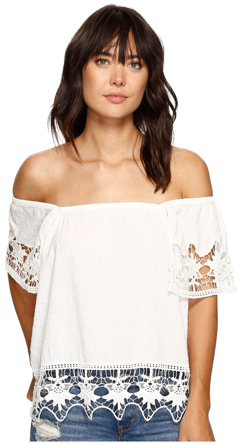 Roxy - Second Wave Cold Shoulder Top Women's Clothing