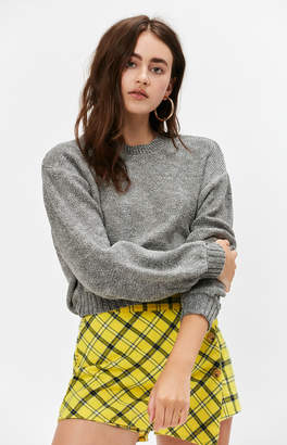 KENDALL + KYLIE Kendall & Kylie Cropped Banded Sweater