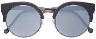 RetroSuperFuture Ilaria Black Matte Zero sunglasses