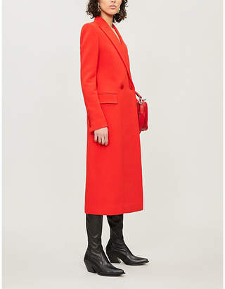 Givenchy Longline double-breasted wool coat