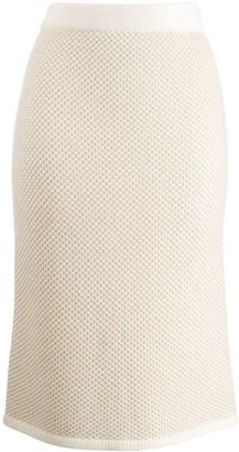 N.Peal slim-fit pencil skirt