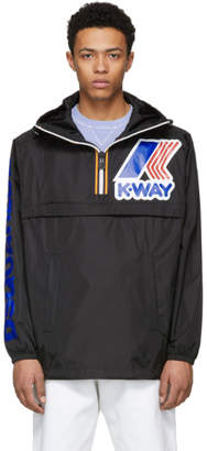 DSQUARED2 Black K-Way Edition Zipped Jacket