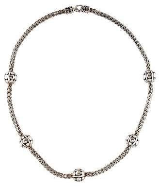 John Hardy Dot Sautoir Station Necklace