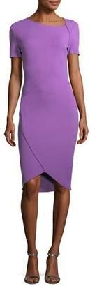 St. John Luxe Sculpture Knit Dress