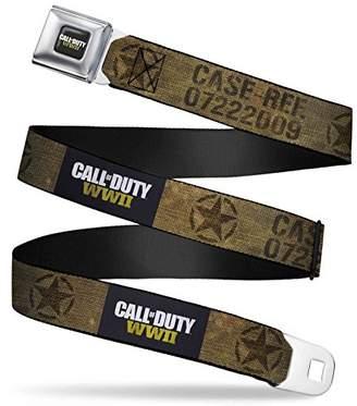 Buckle-Down Men's Seatbelt Belt Call of Duty W L