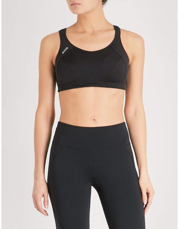 Active Multi stretch-jersey sports bra