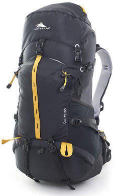 High Sierra NEW Colts 50 Black/Orange Backpack