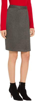 St. John Birdseye Double Knit Skirt