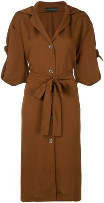 DAY Birger et Mikkelsen Nino Babukhadia belted shirt dress