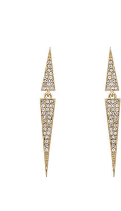 Jeweled Spike Earrings