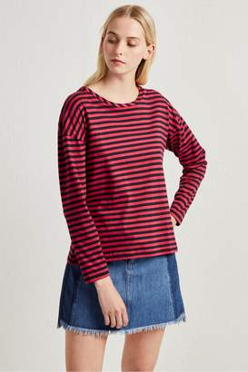 French Connenction Tim Tim Light Stripe Top