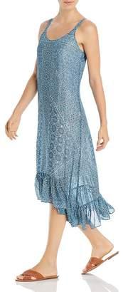 Nic+Zoe Santorini Tile-Print Midi Dress