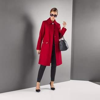 Anne Weyburn Embellished Buttoned Coat
