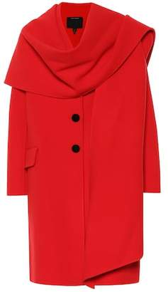 Marc Jacobs Shawl-collar wool-blend coat