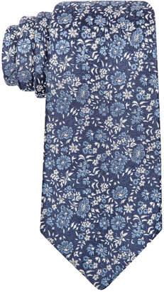 Tasso Elba Men's Montone Flower Tie, Only at Macy's $59.50 thestylecure.com