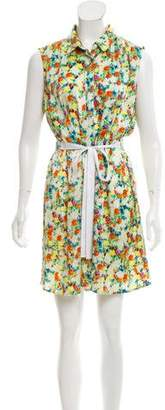 Rebecca Minkoff Silk Floral Print Dress