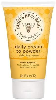 Burt's Bees Baby Daily Cream to Powder