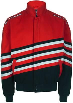 Billionaire Boys Club Striped Racer Bomber Jacket